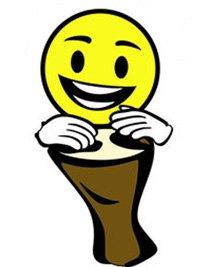 happy beat drumming logo